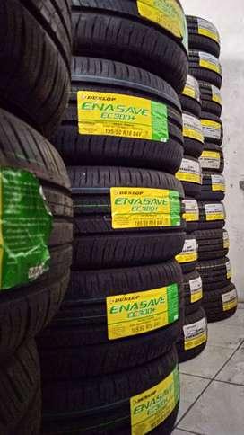 Ban Yaris Vios Sienta Fiesta Jazz Mazda DUNLOP 195-50-16 ENASAVE EC300