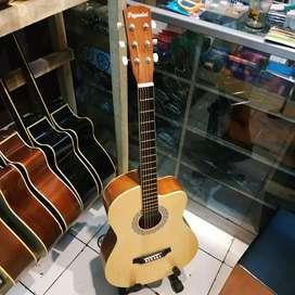 Gitar original peganini natural