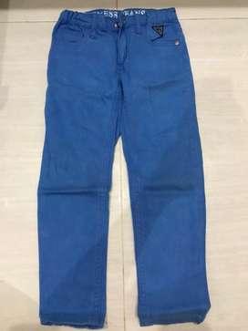 Celana guess jeans kids blue size 4thn