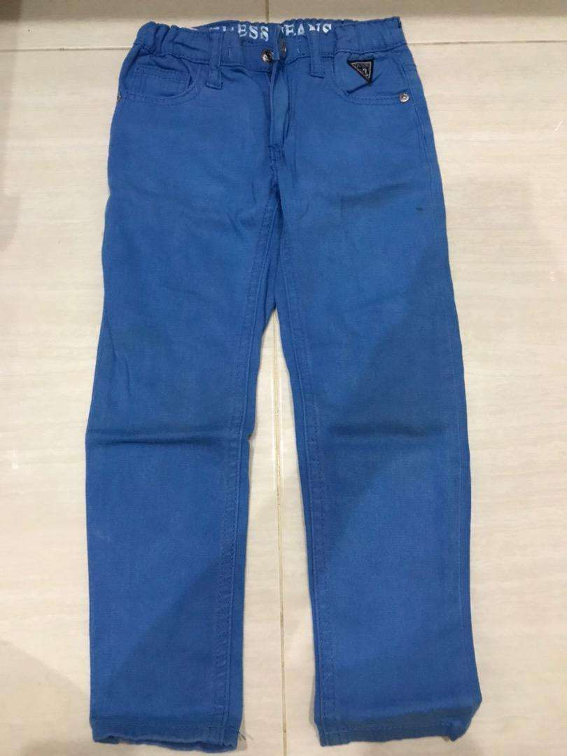 Celana guess jeans kids blue size 4thn 0
