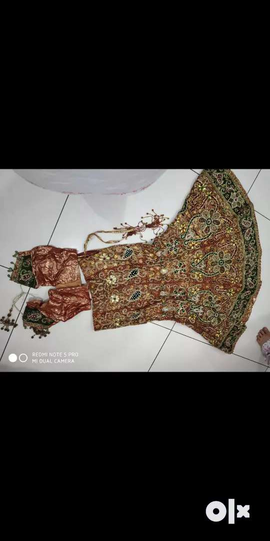 Bridal lengha with blouse n duppata 0