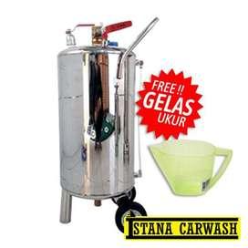 "TABUNG STAINLESS MEDIUM ""IKAME-304"", Untuk Hidrolik Cuci Mobil Motor"