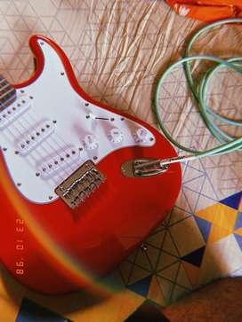 Fender Strat Guitar with Blackstar Amp