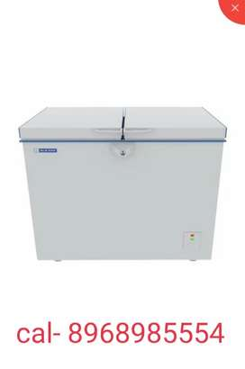 blue star deep fridge 320 litres