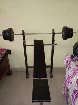 Gym item good colety 1 month home gym