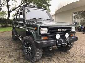 Daihatsu Taft HiLine Long 4x4 Diesel MT Manual thn 1990 Solar Diesel
