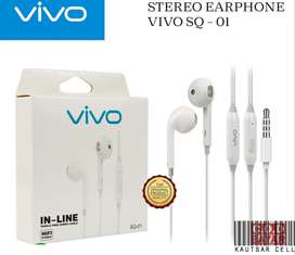 Headset earphone vivo dengan mic gress