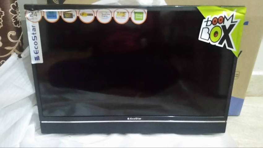 New LED TV 24 in good Color with 1 year warranty 0