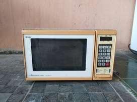 microwave oven jual bekas