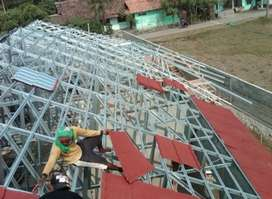 melayani implementasi atap baja ringan ANTI BOCOR