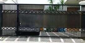 pintu pagar minimalis pekanbaru