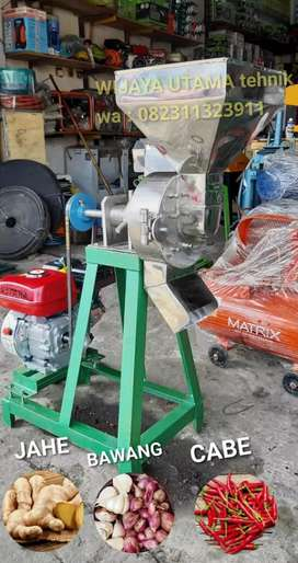 Mesin Giling Cabe Bawang Jahe FULL STAINLESS