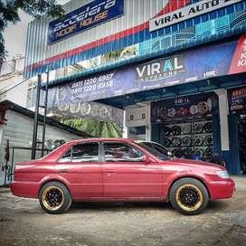 Velg Mobil Soluna bisa dicicil ring 15 HSR ditoko Velg Mobil Aceh