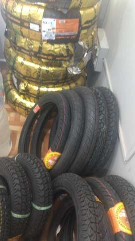 We deal with multibrand tyres for all twowheeler