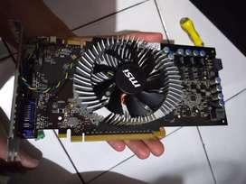 vga card merk MSI GTS 250 ddr3 1 gb 256 bit normal no minus(batangan)