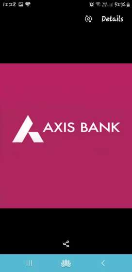Recruitment in axis bank