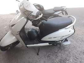 Honda Activa white color.