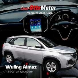 Wuling Almaz 1.5 S Cvt Th19..Km2ribu