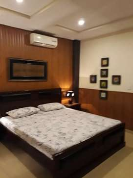 Outclass Furnished one bed flat available for rent in bahria twn islmb