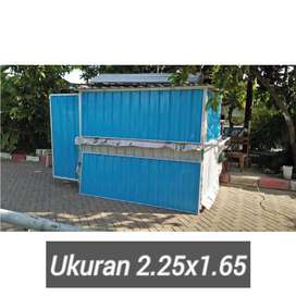 Booth Container/gerobak kontainer
