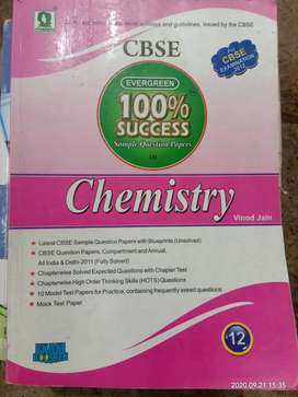 12th chemistry  CBSE  sample question papers  book