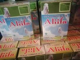 susu sehat Susu Kambing Alifaa berat 200 gr.