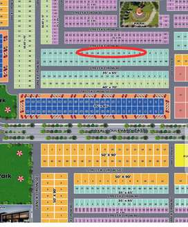 10 Marla plot for sale in Royal Orchard Multan