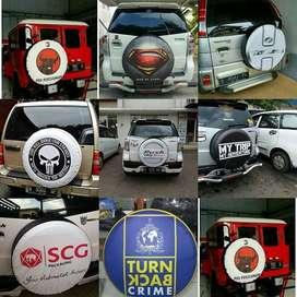 Cover/Sarung/tutup Ban serep Suzuki Vitara/Rush/Terios/Jeep/beda Sendi