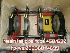 Mesin pemanas pipa hdpe 450 Ready Stock