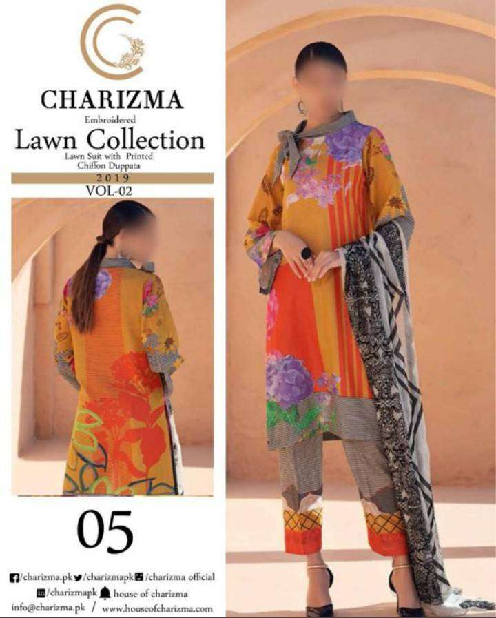 CHARIZMA* Lawn Collection Vol 2 *Avail in Hand* 0