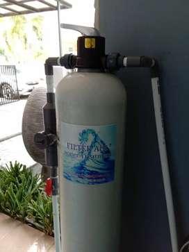 Filter Air proses penyaring air kotor.