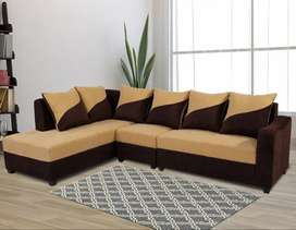 Newly made L shape sofa available at factory price direct from factory