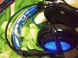 Sades Locust 7.1 headset gaming