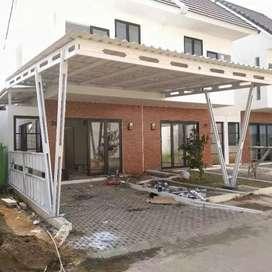 Pemasangan canopy berkualitas bergaransi