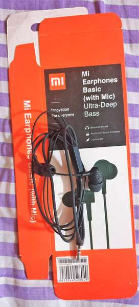 MI Super Bass Basic Wired Headphones / Earphones | Free Delivery