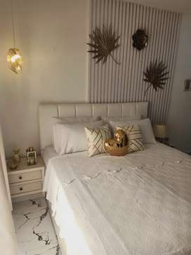 Full furnished flats with handsome rental value
