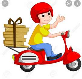 Free job in delivery boy