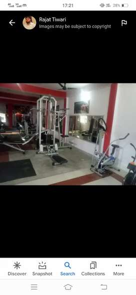 Whole gym on sell