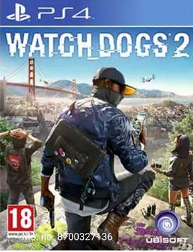 PS4 Games Watch Dog 2 Available