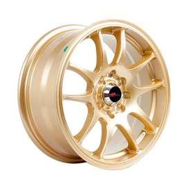 Velg Racing Toyota Agya - HSR Kamikaze 11033 Ring15 Gold