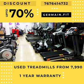 USED MOTORISED TREADMILLs 7,990 onward 1 YEAR WARRANTY 20 Models Whene