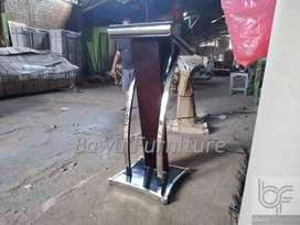 Stock Mebel Terbaru Contoh Podium Masjid BF 302