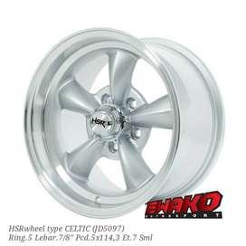 Celtic R15 - HSRwheel Makassar Velg Mobil Racing Import