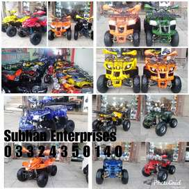 Whole Stock Atv Quad 4 Wheel Bikes All Models And Size Available Here