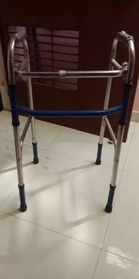 New Walker with height adjustable and easily foldable