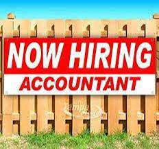 we are recruiting 4 accounts assistant
