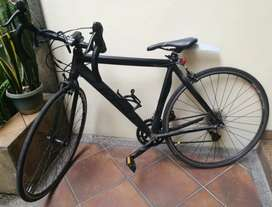 Road Bike STI Mulus Stealth Ninja All Black Limited Edition Boleh Nego