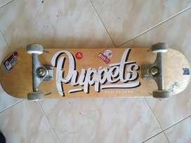 skateboard merk puppets size 7.8 fullset