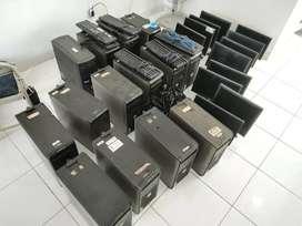 Jual borongan set computer bekas kantor merk DELL optiiplex 320,330,