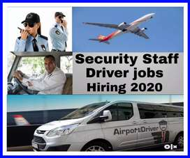 Required in Airport inside Driver or Security Staff